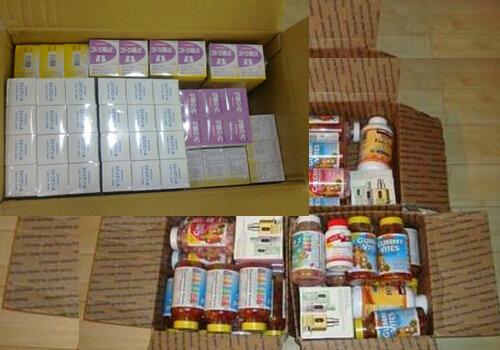 保健品胶囊空运出口到美国