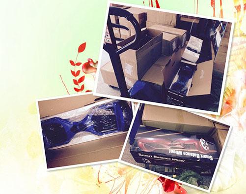 圣诞旺季偶遇火爆平衡车,美国舱位一席难求