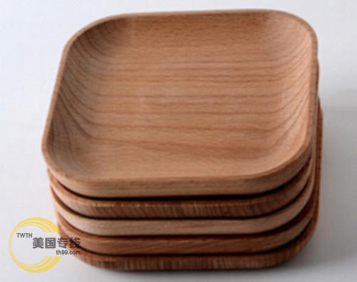 美国海运货代与木质餐盘的采购